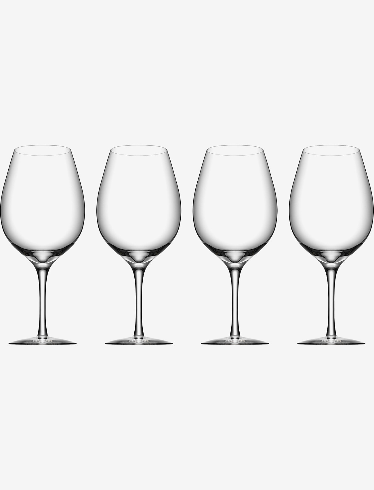 Orrefors - MORE Wine XL 4-PACK - vinglass - clear - 0