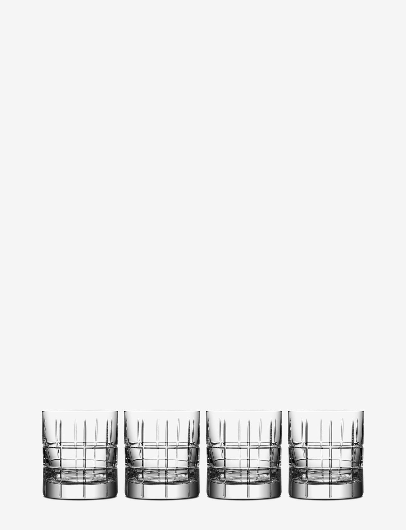 Orrefors - STREET OF 27 CL 4-P - whiskyglass & cognacglass - clear - 0