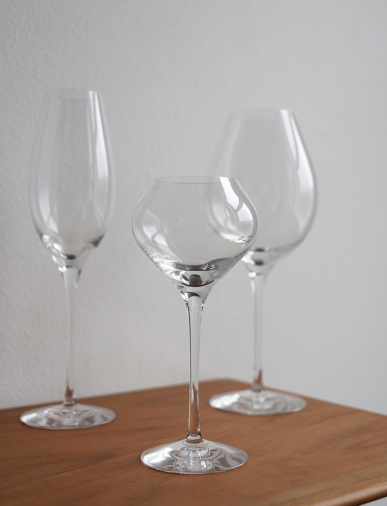 Orrefors - DIFFERENCE SWEET/WINE 22CL (18CL) - vinglass - clear - 1