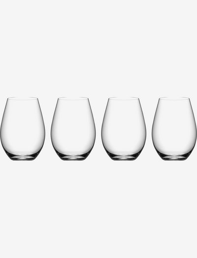 MORE TUMBLER 4-PACK 44CL - juomalasit - clear