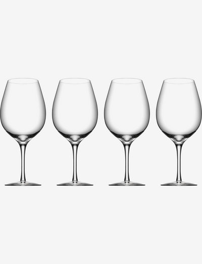 MORE Wine XL 4-PACK - viinilasit - clear