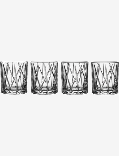 CITY OF 4-PACK 25 CL - whiskyglass & cognacglass - clear