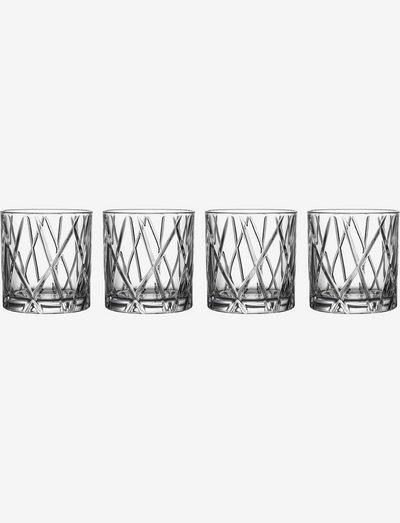 CITY DOF 4-PACK 34 CL - whiskyglass & cognacglass - clear