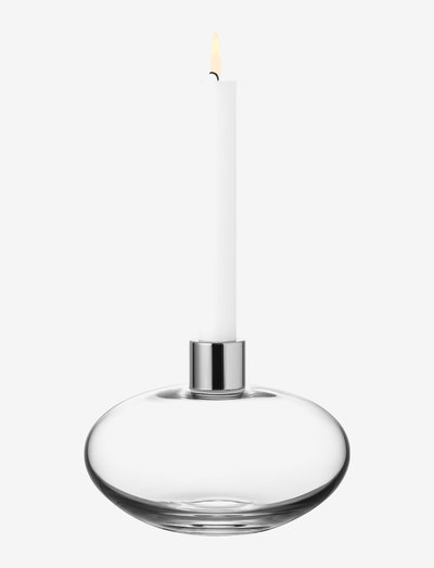 PLUTO CANDLESTICK - lysestaker - clear
