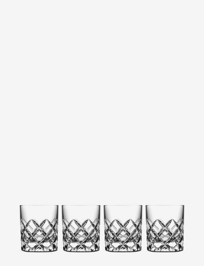 SOFIERO OF 25CL 4-PACK - whiskyglass & cognacglass - clear