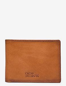 Theodor - plånböcker - tan
