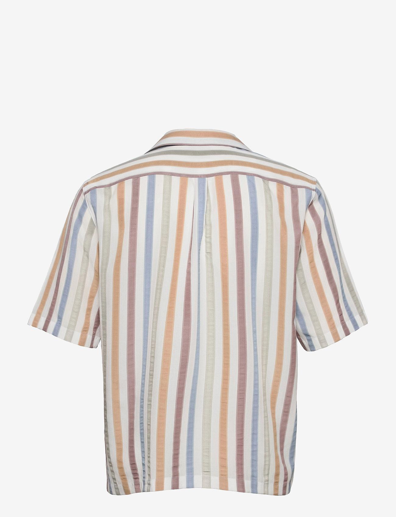 Oscar Jacobson - Hilmer reg shirt - oxford shirts - snow white - 1