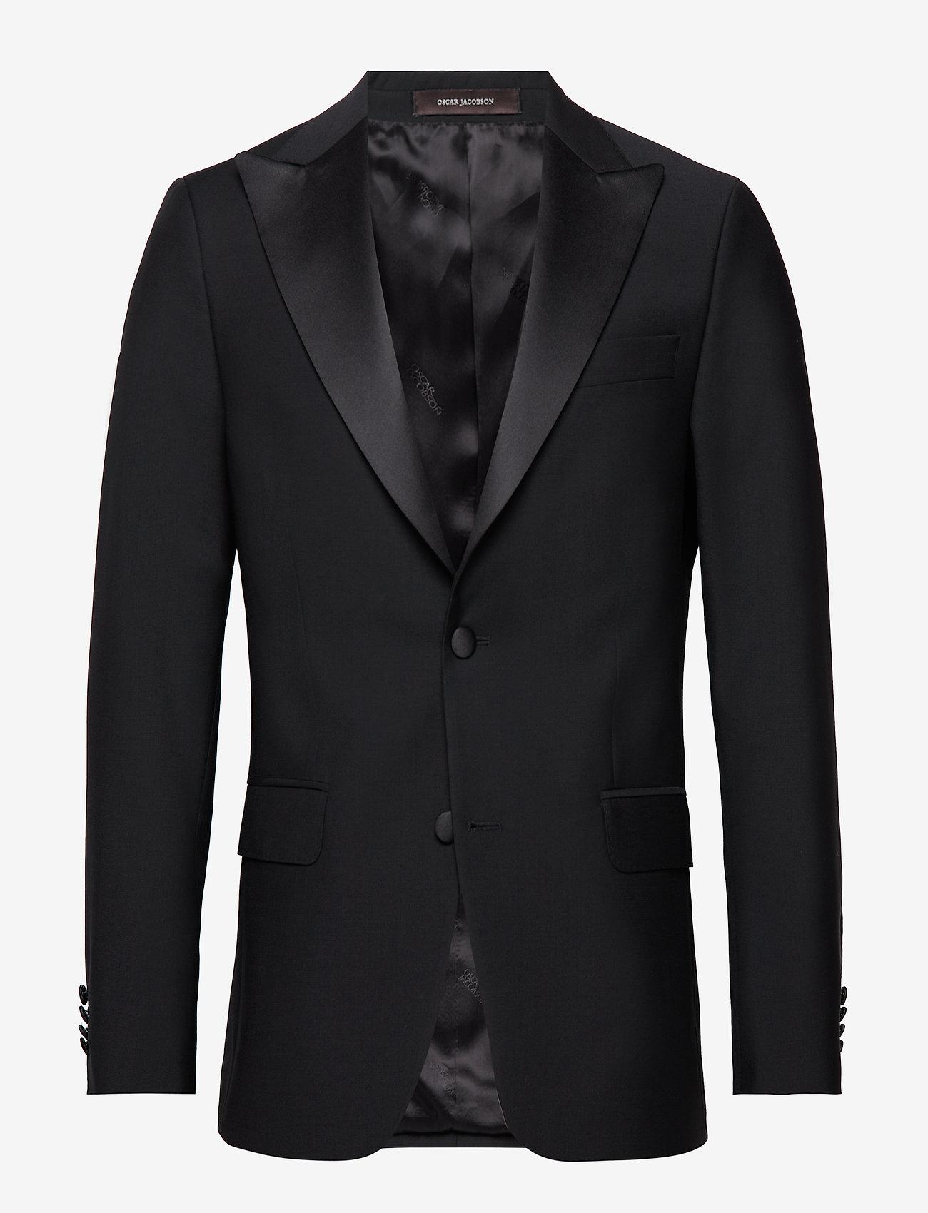 Oscar Jacobson - Elder Blazer - blazers met enkele rij knopen - 310 - black - 0