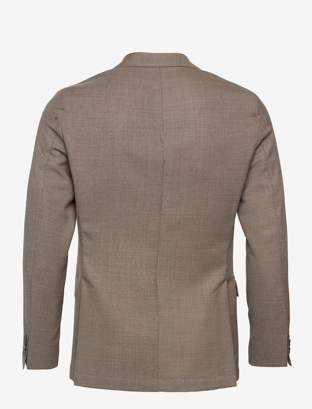 Oscar Jacobson - Egel Soft Blazer - single breasted blazers - beige - 1