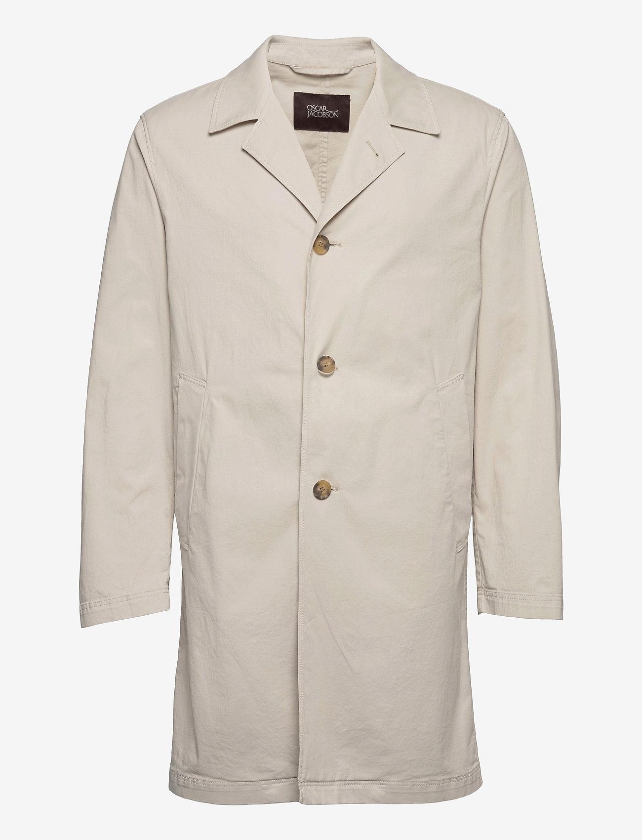 Oscar Jacobson - Colombo Coat - manteaux legères - ecru - 0