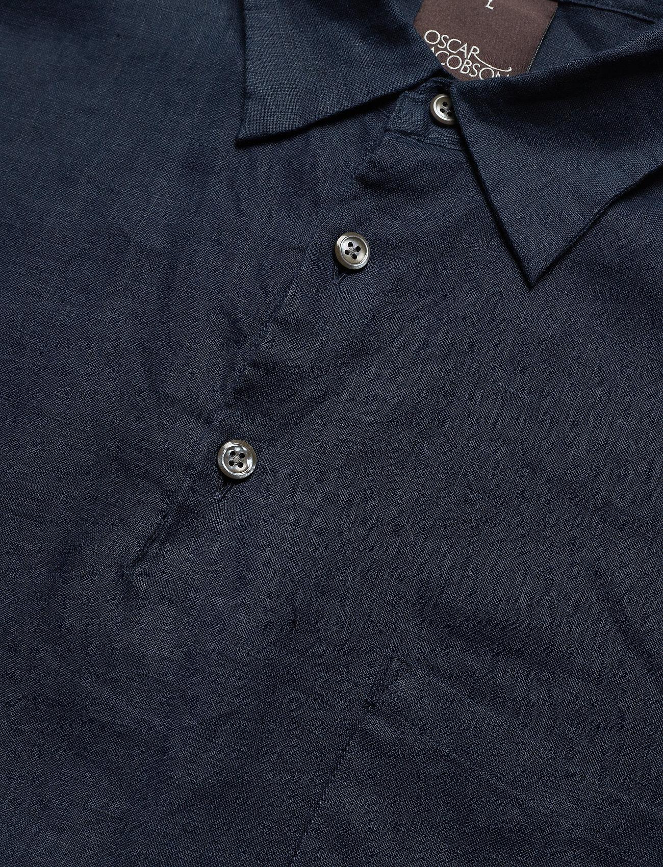 Jacobson Hadi Reg Wash222Dark BlueOscar Shirt 9IE2WHD
