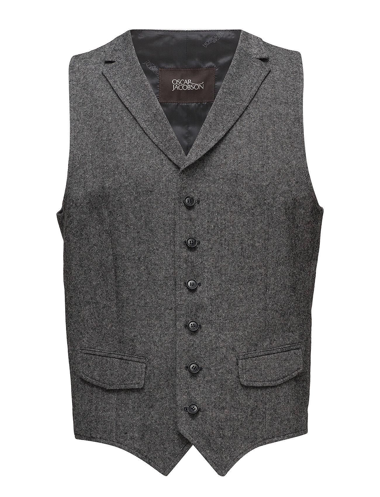 Oscar Jacobson City Waistcoat - 134 - GREY