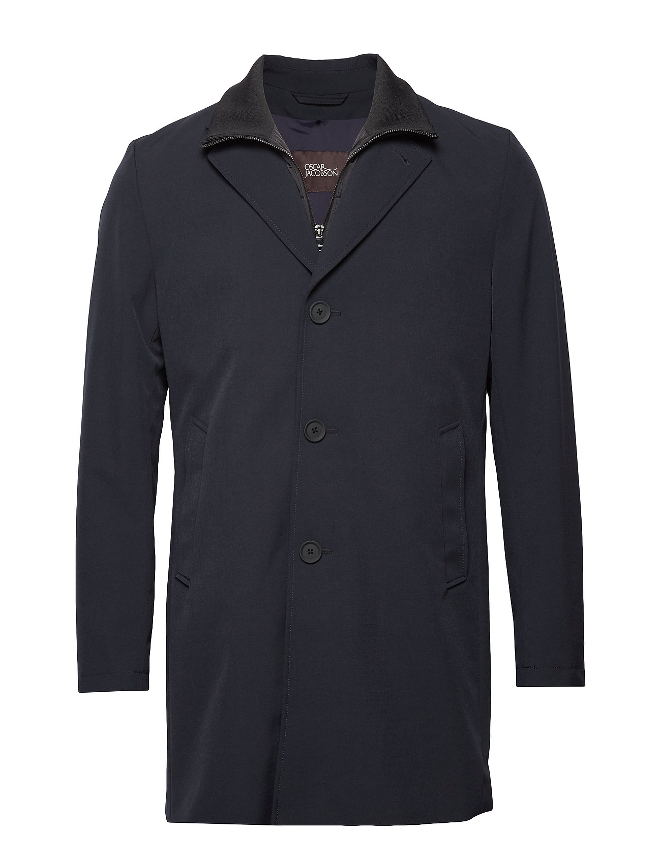 Oscar Jacobson Dalton Coat - 210 - NAVY