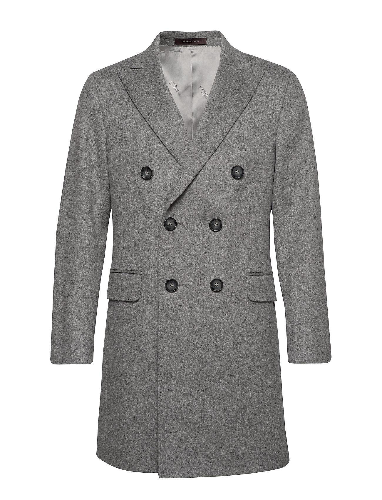 Oscar Jacobson Sebastian Coat - 185 - GREY