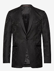 Oscar Jacobson - Filip Blazer - smokit - 310 - black - 0