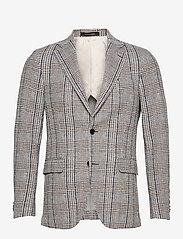 Oscar Jacobson - Egel Soft Blazer - single breasted blazers - beige - 0