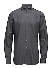 Herman 2 slim shirt wash - 110 - DARK GREY