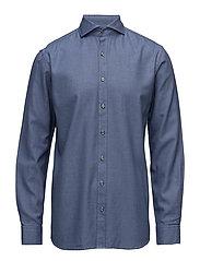 Herman 2 slim shirt wash - 250 - HARMONY BLUE