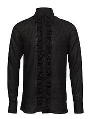 Holme slim shirt - 311 - BLACK