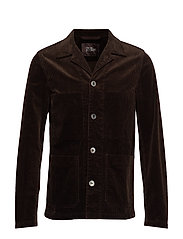 Hampus shirt Jacket - 510 - BROWN