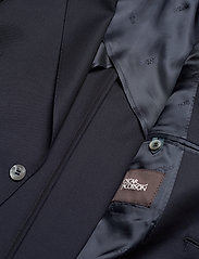 Oscar Jacobson - Egel Soft Blazer - single breasted blazers - navy - 4