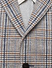 Oscar Jacobson - Egel Soft Blazer - single breasted blazers - beige - 2