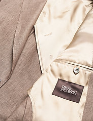 Oscar Jacobson - Egel Soft Blazer - single breasted blazers - beige - 4