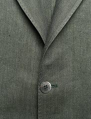Oscar Jacobson - Egel Soft Blazer - single breasted blazers - green leaf - 2