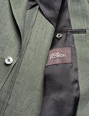Oscar Jacobson - Egel Soft Blazer - single breasted blazers - green leaf - 4