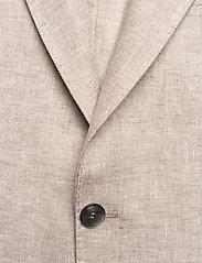 Oscar Jacobson - Egel Soft Blazer - single breasted blazers - light beige - 2