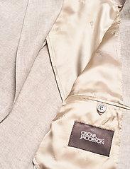 Oscar Jacobson - Egel Soft Blazer - single breasted blazers - light beige - 4