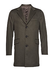 Saks Coat - 825 - DARK GREEN