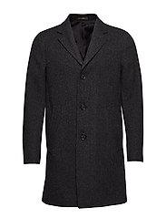 Storvik Coat - 101 - BLACK GREY
