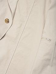 Oscar Jacobson - Colombo Coat - manteaux legères - ecru - 4