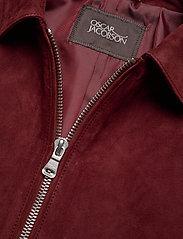 Oscar Jacobson - Logner Jacket - lederjacken - 664 - ginger - 2