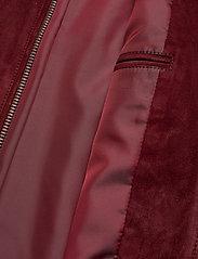 Oscar Jacobson - Logner Jacket - lederjacken - 664 - ginger - 4