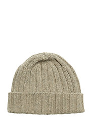 Knitted Hat - 407 - BRINDLE BEIGE