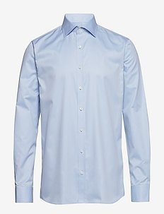 Hawk slim shirt - peruspaitoja - light blue
