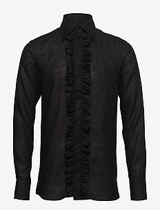 Holme slim shirt - 311 - BLACK