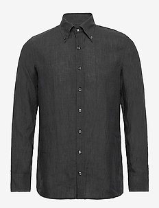 Harry 3 slim shirt wash - puuvillapaidat - 111 - antracite grey