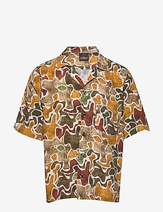 Hilmer reg shirt - lyhythihaiset paidat - 858 - spruce