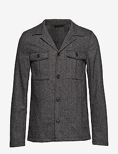 Holger shirt Jacket - 134 - GREY