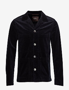Hampus shirt Jacket - enkeltkneppede blazere - 210 - navy