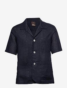 Hanks reg shirt wash - basic overhemden - dark blue
