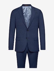Edmund Suit - yksiriviset puvut - 256 - blue