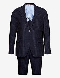 Ferry Soft Suit - enkeltkneppede dresser - navy