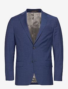 Edmund Blazer - enkeltradede blazere - blue