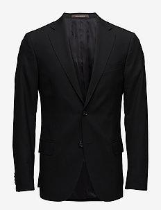Edmund Blazer - enkeltkneppede dresser - 310 - black