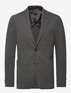 Einar Blazer - blazers à boutonnage simple - 110 - dark grey