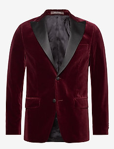 Elder Blazer - smokinger - 616 - cardinal red